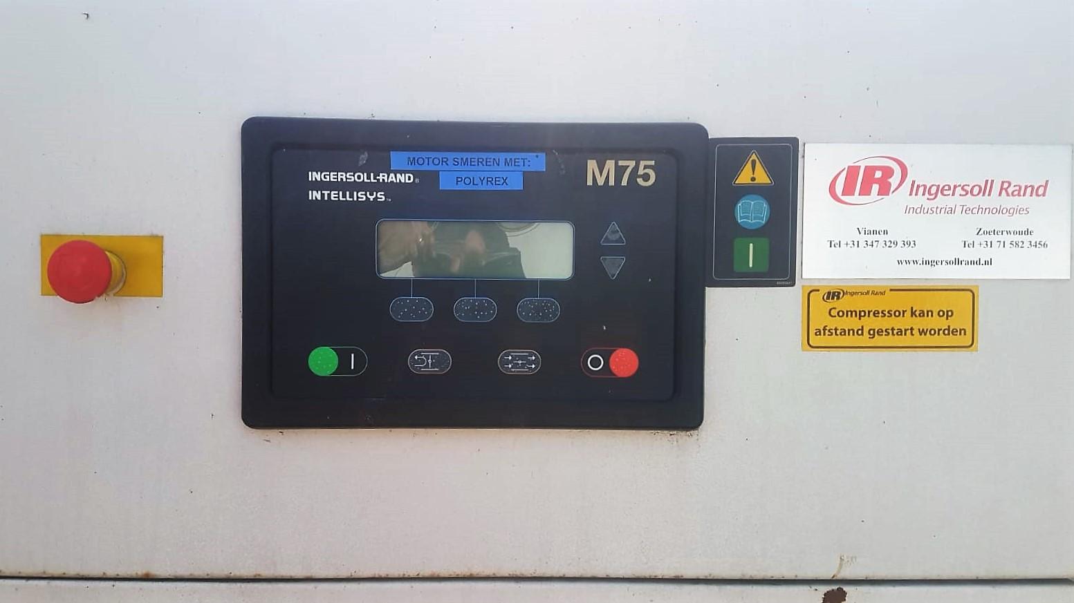 Ingersoll Rand schroefcompressor ML75 2S