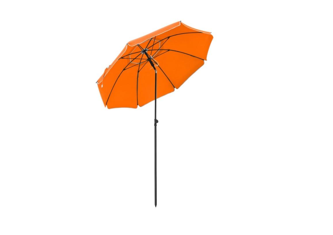 Parasol 200 cm diameter oranje