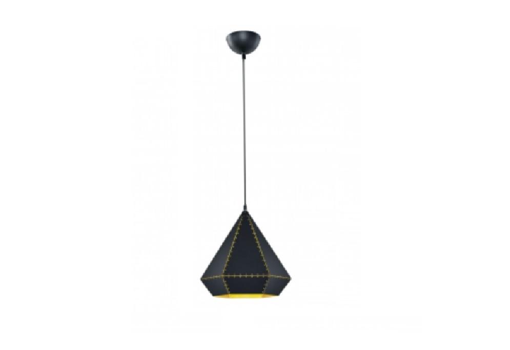 Trio Houston hanglamp zwart
