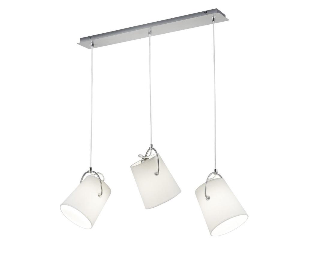 Trio Meran hanglamp 3x E27