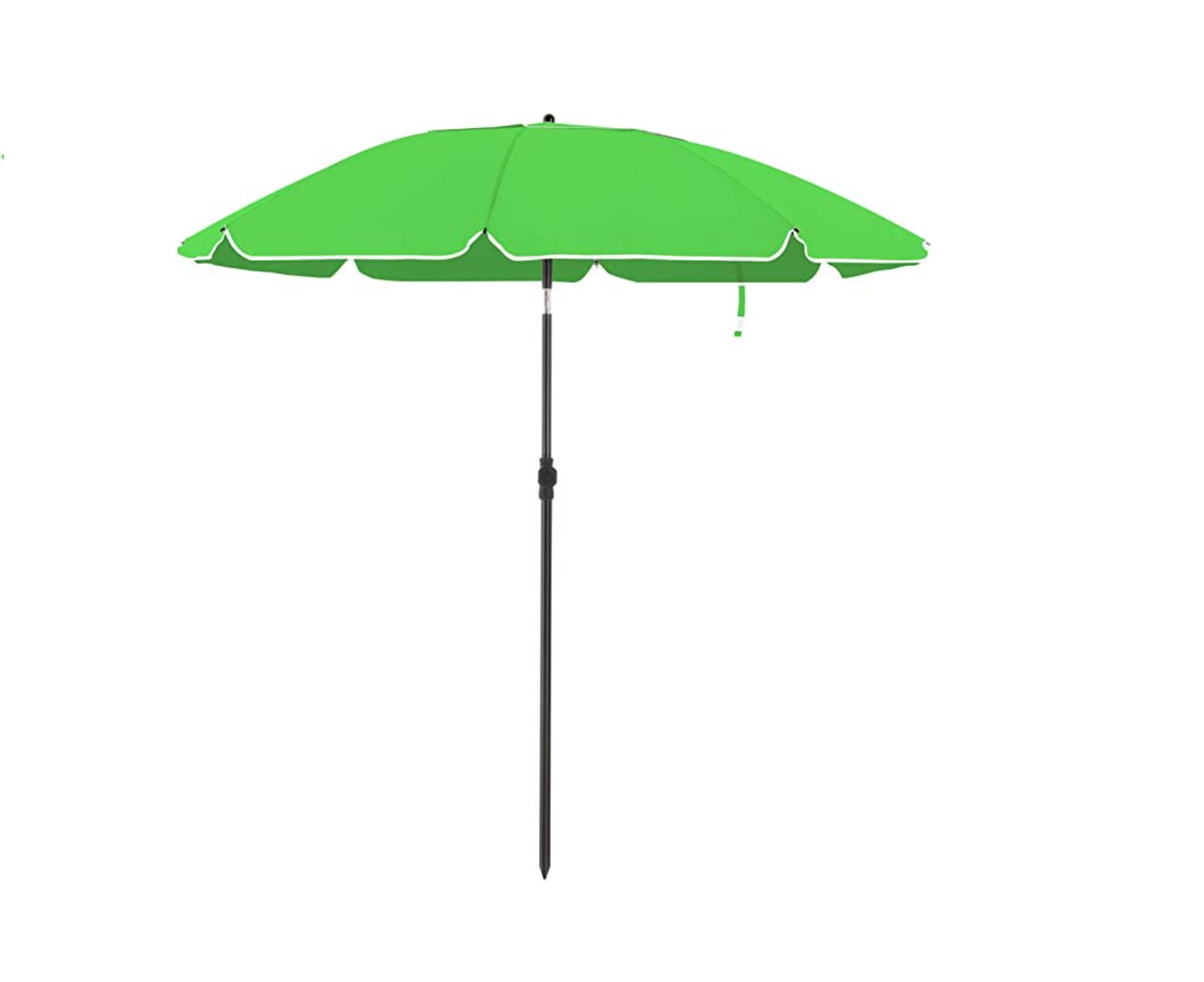Parasol 200 cm diameter groen