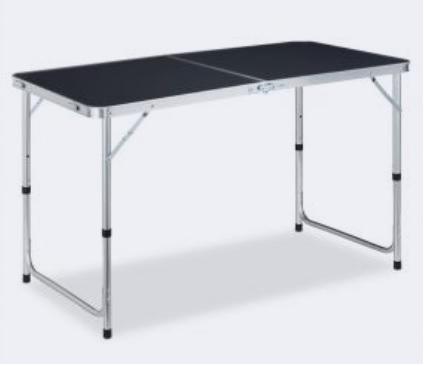 Campingtafel inklapbaar met aluminium frame