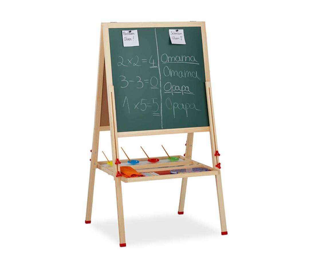 Schoolbord voor kinderen met whiteboard
