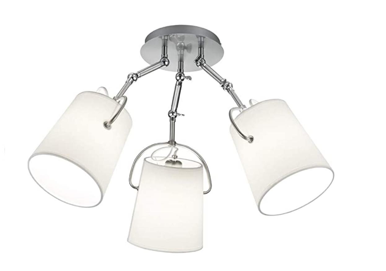 Trio Meran plafondlamp 3x E27